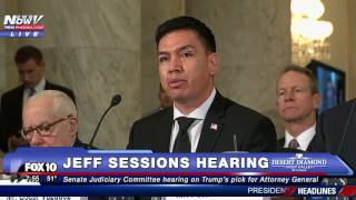 FNN: ASU Grad and Army Vet Oscar Vazquez Speaks about Life UNDOCUMENTED at Jeff Sessions Hearing