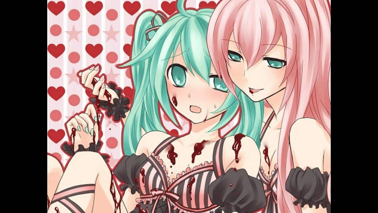 Miku Rin y Luka Luka Miku Show me Love