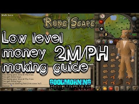 Runescape 2007 Low Level Money Making Guide (2m/PH)