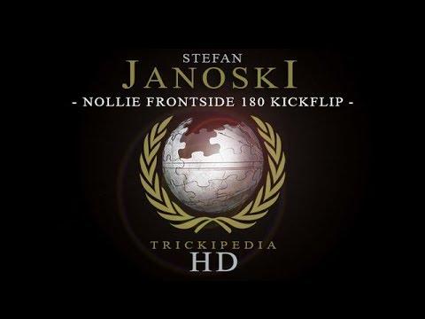 Stefan Janoski: Trickipedia - Nollie Frontside 180 Kickflip