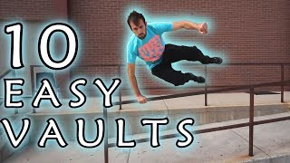 10 PARKOUR VAULTS FOR BEGINNERS