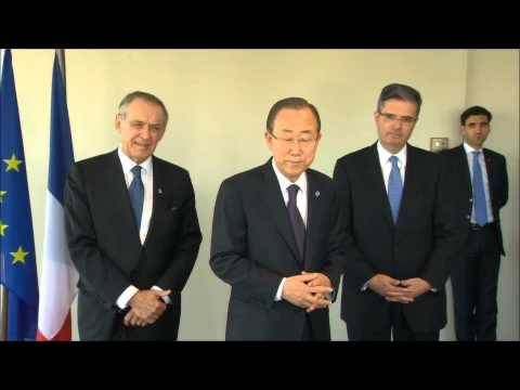 UN's Ban Ki-moon Says He Is