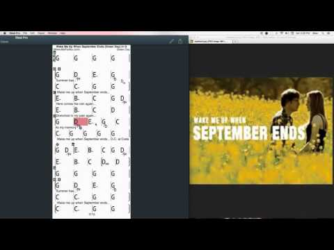 wake me up when september end - music playlist