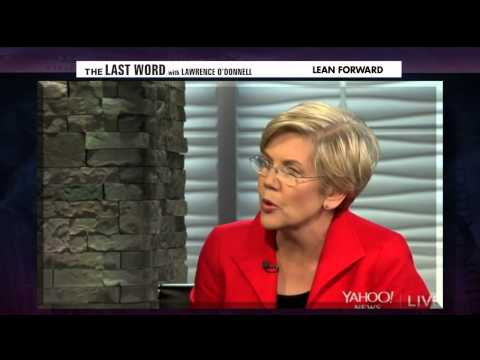 Liz Warren's Reponse to Eric Cantor's Wall Street Gig - Chris Hayes