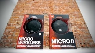 JBL Micro Wireless & JBL Micro 2 Unboxing