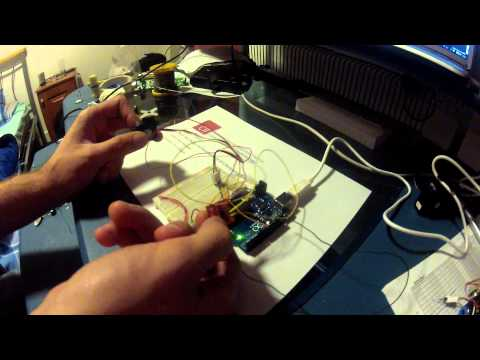 ADXL335 Accelerometer on an Arduino Chris Heydrick