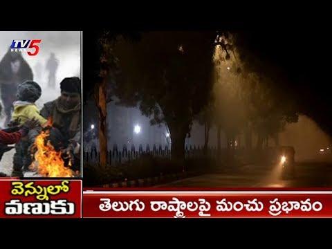 తెలుగు రాష్ట్రాలపై మంచు ప్రభావం | Heavy Snowfall Effect In Telugu States | TV5News
