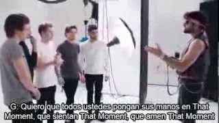 That Moment -perfume de One Direction subtitulado en español.