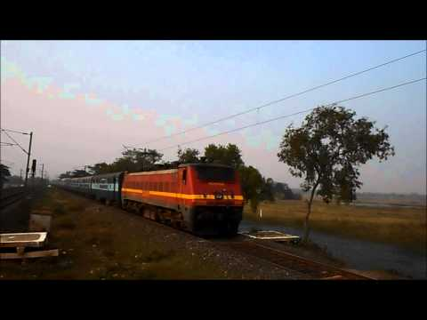 Legend Hwh Wap 4 Returns With Jammu Tawi-kolkata Exp ! video