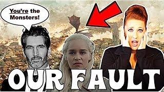 🔥We Caused Daenerys to Destroy King's Landing🔥 (Game of Thrones Season 8)