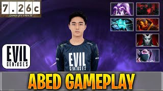 Abed Gameplay | 7.26c Update Patch | Player Perspective Replay | Dota 2 Pro MMR STREAM Gameplay