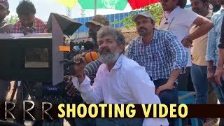 RRR Movie First Shot Making Video |  | Jr NTR | Ram Charan | SS Rajamouli  #RRRShootBegins