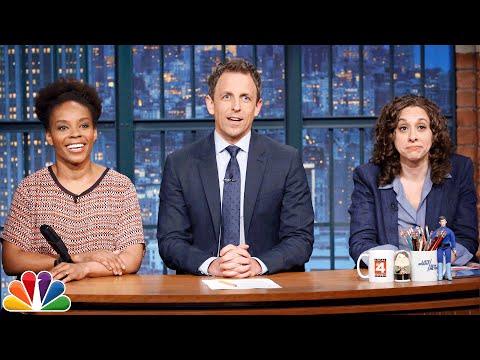 Jokes Seth Can't Tell: Janet Jackson Pregnant, Midsummer Night's Dream Lesbian