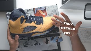 "Air Jordan 5 "" Michigan"" Inspire My First Thoughts!!"