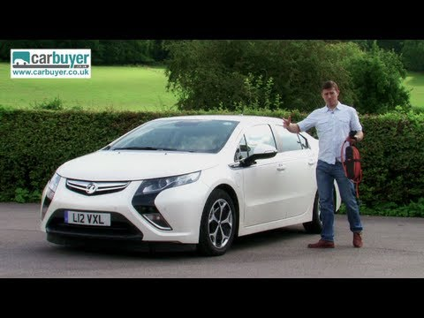 Vauxhall Ampera (Chevrolet Volt) hatchback review - CarBuyer