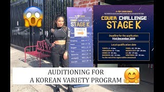 Auditioning for a Korean Variety Program | STAGE K by JTBC