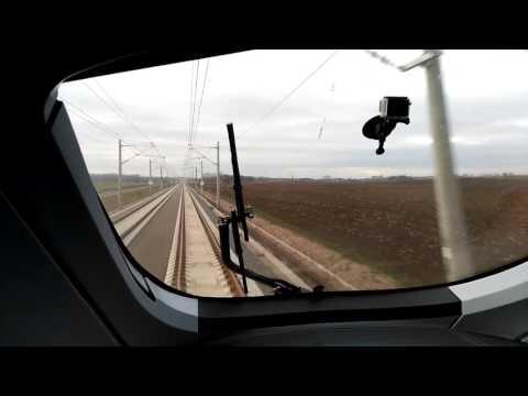 ICE-Präsentationsfahrt auf der Neubaustrecke Leipzig - Erfurt