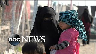 Women and children flee Syria