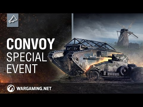 Celebrate 100 Years Of Tanks With The New Convoy Special Event