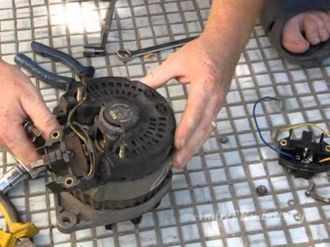 Ремонт генераторов валео своими руками