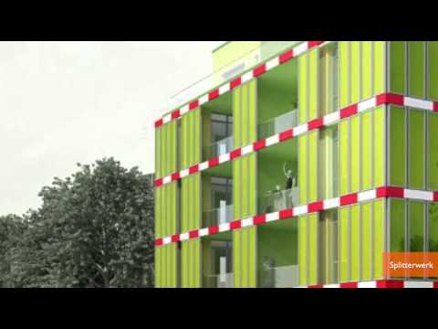 Building in Germany Gets Power from Algae