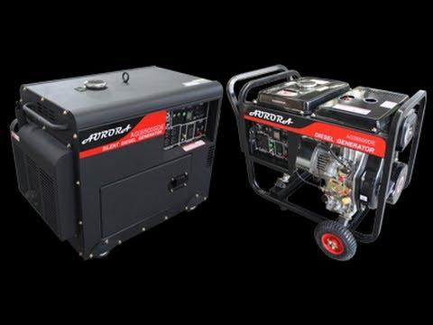 Aurora Silent Diesel Generators