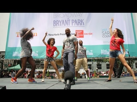 ROCKY Broadway Live in Bryant Park