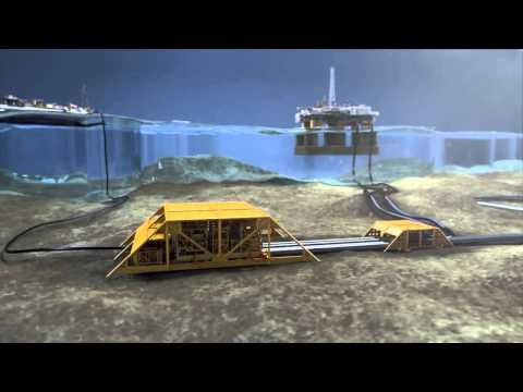 The World's First Subsea Gas Compressor Facility Reaches Destination