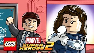 LEGO Marvel Super Heroes 2: Gwenpool Mission - Simulation Situation