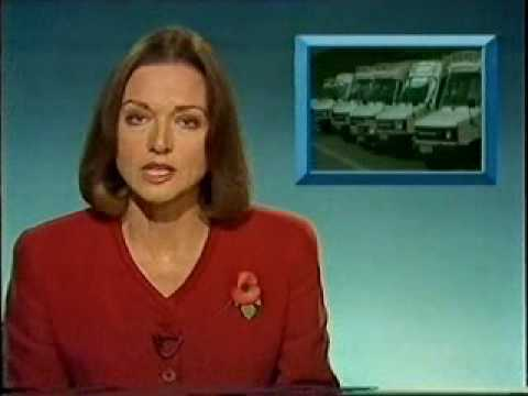 BBC1 Six o'clock news 1989