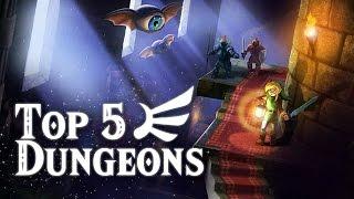 Top 5 Zelda Dungeons - Zeltik