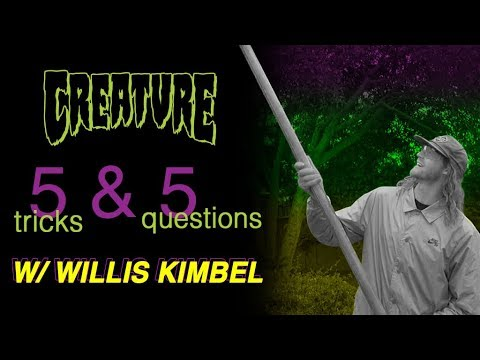 Willis Kimbel 5&5 for Creature Skateboards