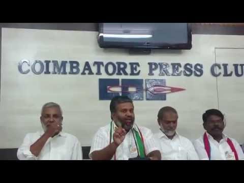 Welfare Party Coimbatore Press Meet - Mayor candidate Ibrahim