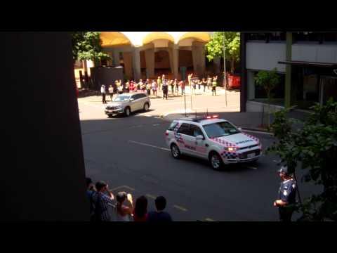 President Obama G20 Motorcade