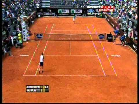 Andy Murray vs Marcel Granollers - ATP Rome 2013. Highlights (bojan svitac)