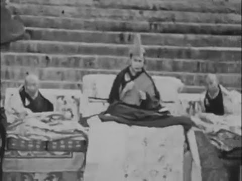 The 14th Dalai Lamas' Geshe Examinations in Lhasa, Tibet, 1958