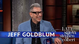 Jeff Goldblum Knows The Jazz Lingo
