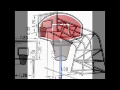 Из чего можно сделать баскетбольный щит своими руками 77