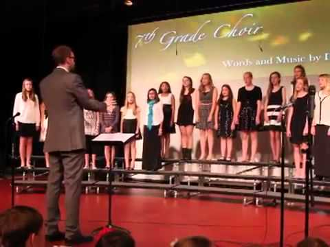 The Chain, performed by Graland Country Day School's 7th Grade Choir