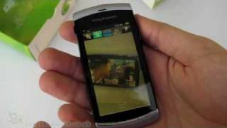 Sony Ericsson Vivaz unboxing video