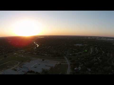Phantom 2+ Drone Flight Near Labay Middle School