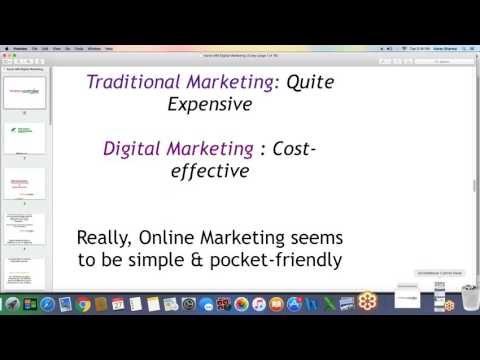 Traditional Marketing vs Digital Marketing - A comparison