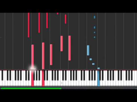 Violetta - En Mi Mundo - Piano Tutorial In Synthesia - Cover
