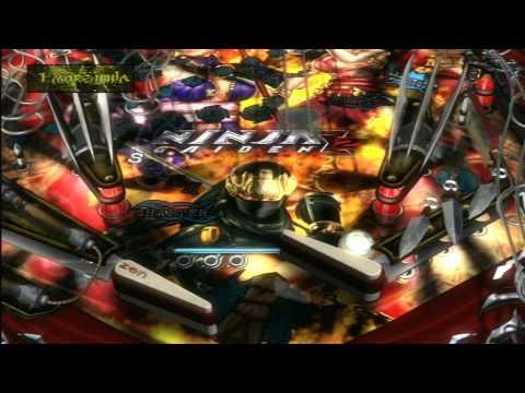 Classic Game Room HD - NINJA GAIDEN SIGMA 2 ZEN PINBALL table