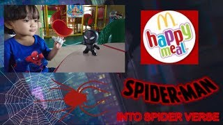 2018 SPIDER-MAN INTO THE SPIDER-VERSE McDonald's Happy Meal Toys