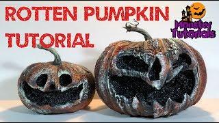 Easy Rotten Pumpkins Tutorial