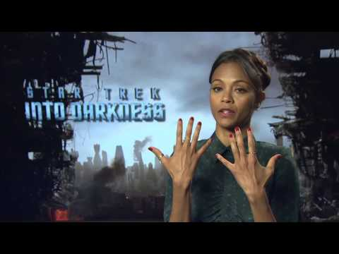 Zoe Saldana -- STAR TREK INTO DARKNESS -- Interview