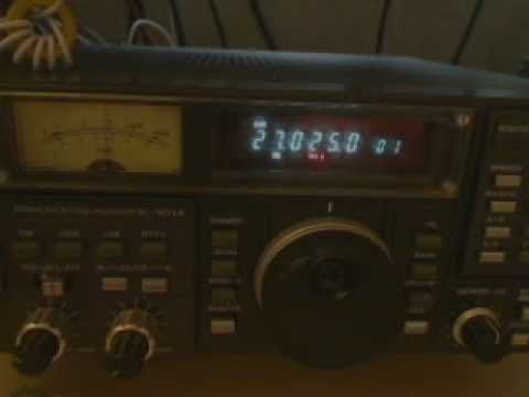 My Audio On A Icom R71A Receiver 9kc Wide Filter