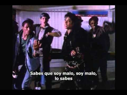 Michael Jackson - Bad 2/2 (Subtitulado español)