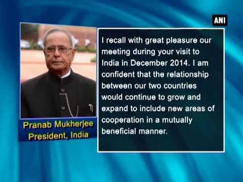 President Mukherjee greets Bangladesh on National Day